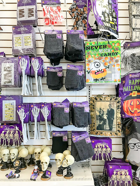 Dollar Tree Halloween decor