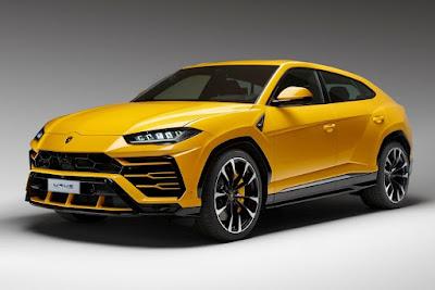 Gambar Mobil Lamborghini Urus