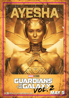 Marvel's Guardians of the Galaxy Vol. 2 Character Movie Poster Set - Ayesha