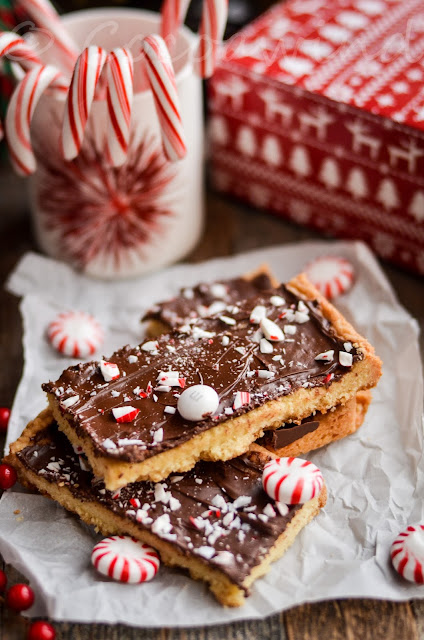 Peppermint Cookie Bark - Cocoawind