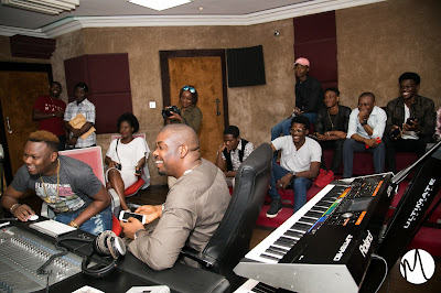 Don Jazzy Gives Fans Unforgettable Moments At Mavin Studios (photos)