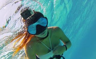 экшен камера съемка под водой