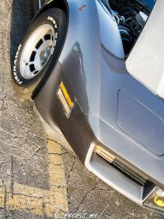 Chevrolet C3 Corvette Front Angle