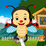 Games4King - Shell Lady Beetle Rescue Escape