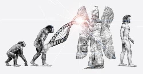 """mankind - ¿QUIÉNES FUERON LOS VERDADEROS """"DIOSES DEL EDÉN""""?"""
