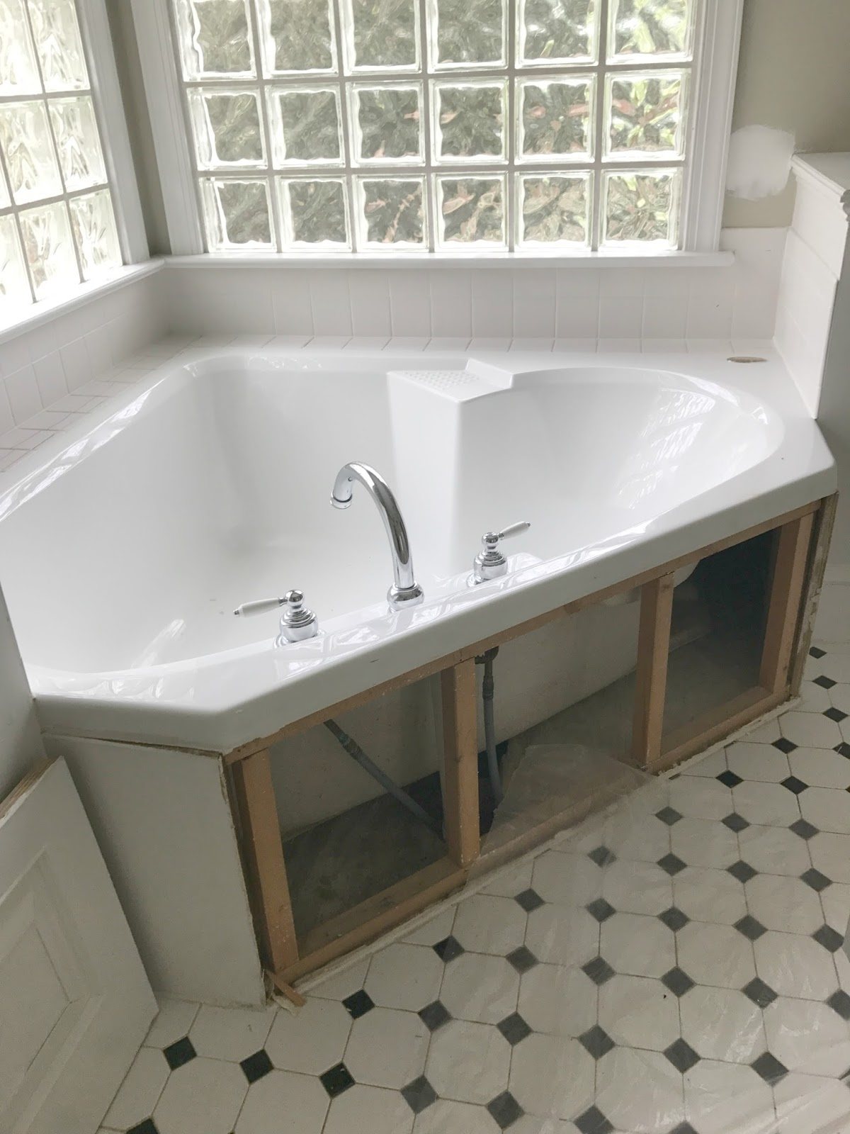 Once We Decided To Rip Out The Tub I Immediately Started Tub Shopping! At  First I Was Worried That A Freestanding Tub Wouldnu0027t Be As Comfortable To Sit  In ...