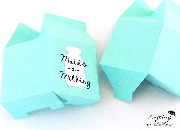 cricut milk carton