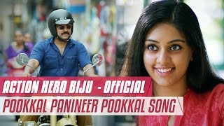 Pookkal Panineer Official Video Song HD __ Action Hero Biju __ Nivin Pauly __ Anu Emmanuel