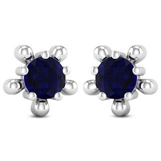 Sapphire Earring - Zaamor Diamonds