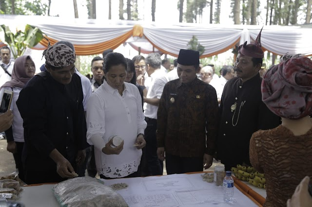 Menteri BUMN : Menjadikan Burno Sebagai Desa BNI