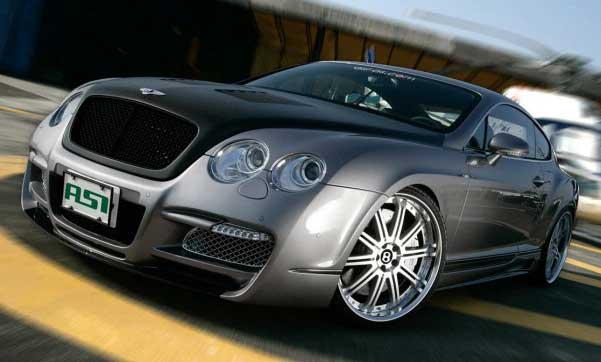 Foto Mobil Bentley Continental GT