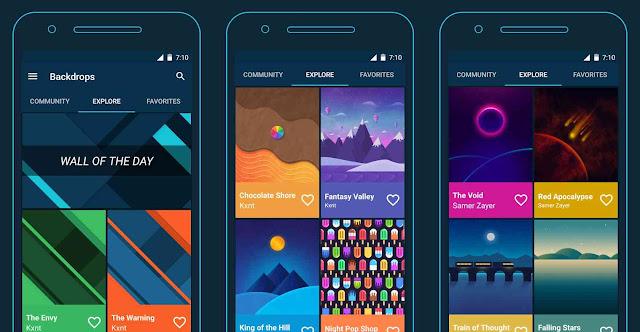 Tips mengganti wallpaper smartphone android