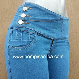 Pompis arriba Jeans corte colombiano original Vivaauncios mayoreo de jeans