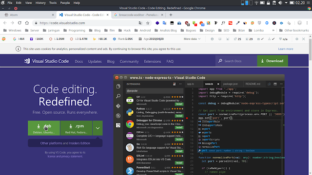 Visual Studio Code 1.29