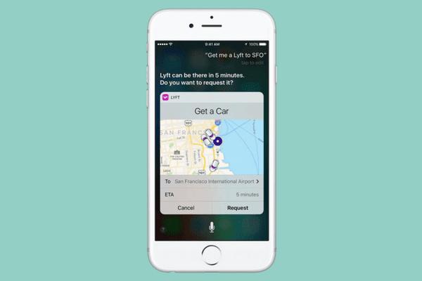 Siri di iOS 10