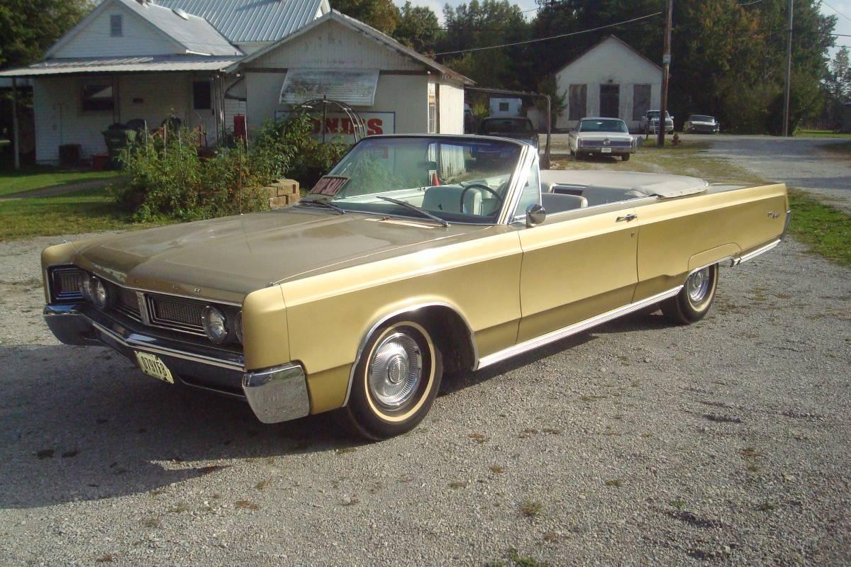 Driver 88 Craigslist Find 1967 Chrysler Newport Convertable The