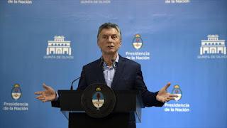 Macri alega que ajuste fiscal exigido por FMI favorece al pueblo