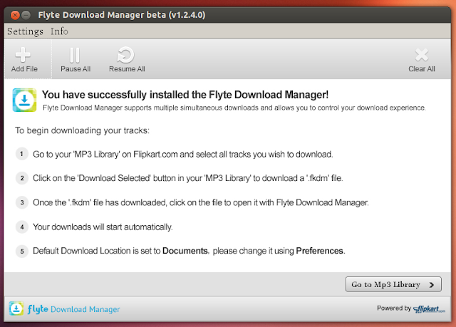 flyte music download manager for ubuntu flipkart