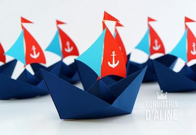 festa marinheiro barquinho