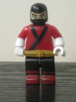 Power Rangers Super Samurai Mega Bloks Metallic Red Ranger 02