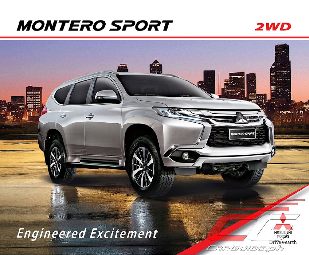 2018 Montero Philippines >> Mitsubishi Motors Philippines Adds More Features to Montero Sport for 2018 (w/ Brochure ...