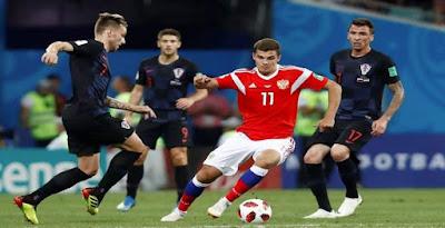 كرواتيا وروسيا