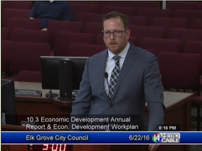 Elk Grove economic development director darrell doan