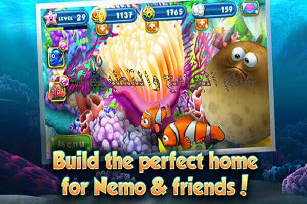 لعبة السمكة نيمو