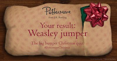 Risultato quiz di Natale: Maglione Weasley