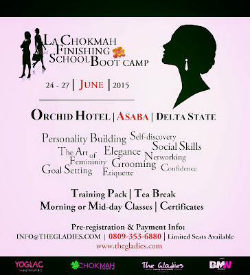 La Chokmah an arm of The Gladies invites you to her Finishing School Boot Camp
