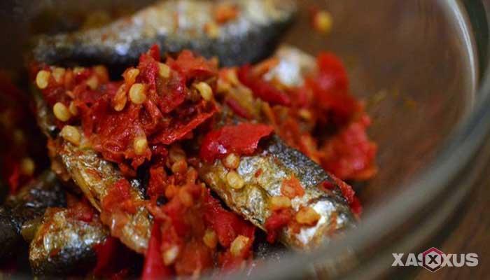 Resep cara membuat sambal ikan asin