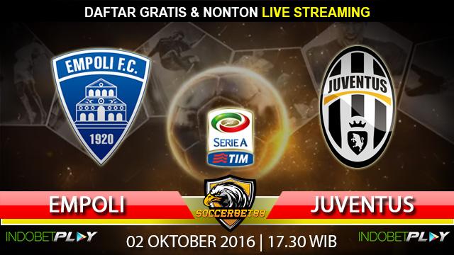 Prediksi Empoli vs Juventus 02 Oktober 2016 (Liga Italia)