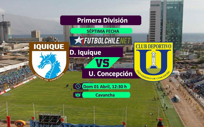Deportes Iquique vs Universidad de Concepción: Previa, horario, dónde ver en vivo por TV y online por la Primera División