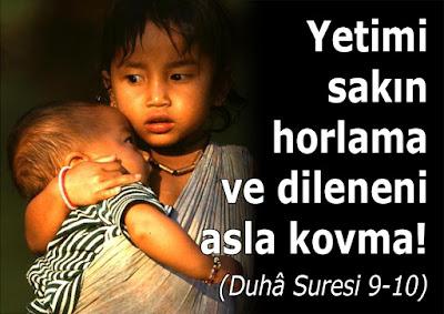 yetim, dilenci, gariban, fakir, Ayet, Kur'an, kız çocuğu, çocuk