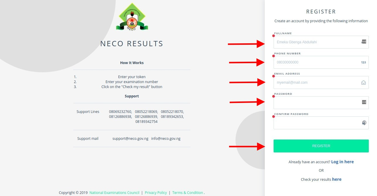 Purchase NECO Result Token for SSCE, BECE & NCEE [PHOTOS]