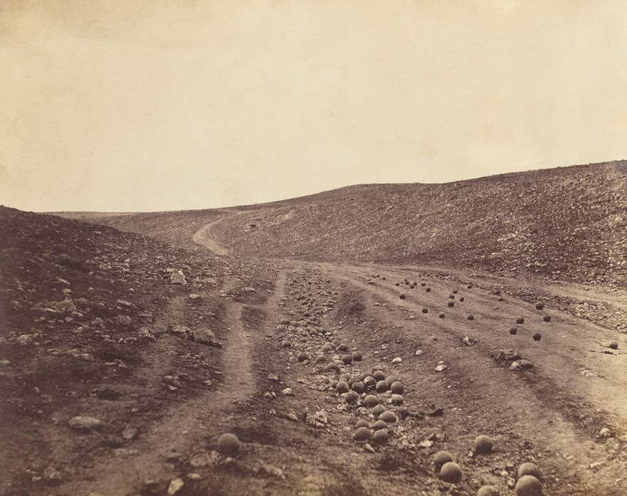 #73 The Valley Of The Shadow Of Death, Roger Fenton, 1855 - Top 100 Of The Most Influential Photos Of All Time