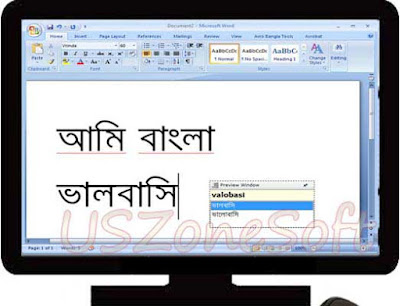 Avro Keyboard Free Offline Online Word Bengali typing spell checker program free download