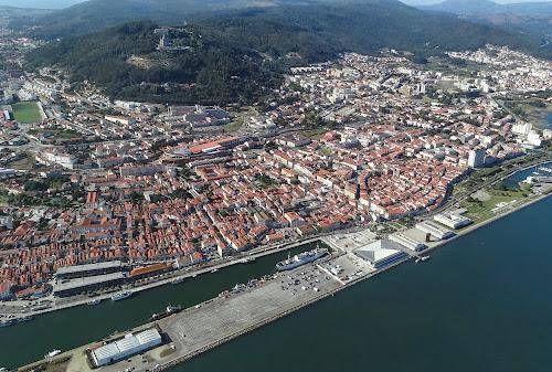 Imagem aérea de Viana do Castel