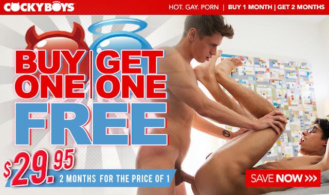 Cockyboys - Buy 1 Get 1 Free!!!