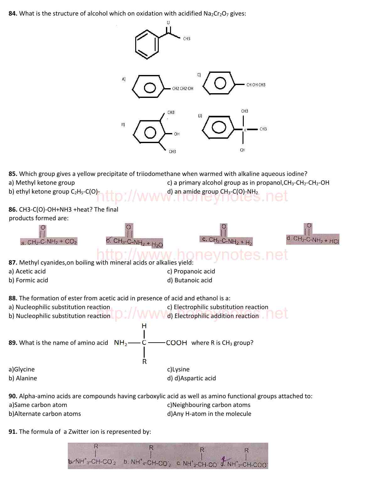Chemistry Past Papers (2013) For Medical Entry Test [UHS Lahore