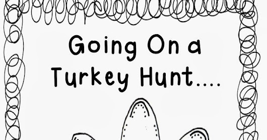 Turkey Hunt - Color Word FREEBIE