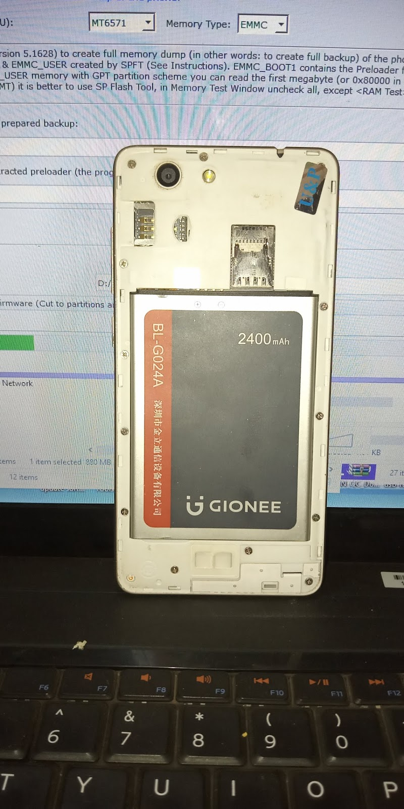 GIONEE GN3003 MT6735 FIRMWARE (FLASH FILE) STOCK ROM 1000% WORKING