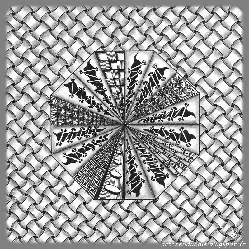zendoodle origami escargot