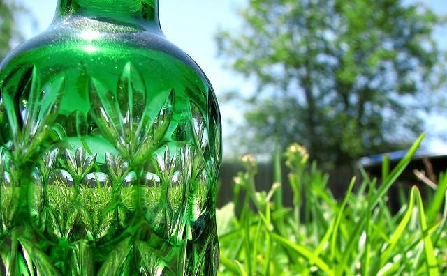 Bio-Green-Plastic Bottole