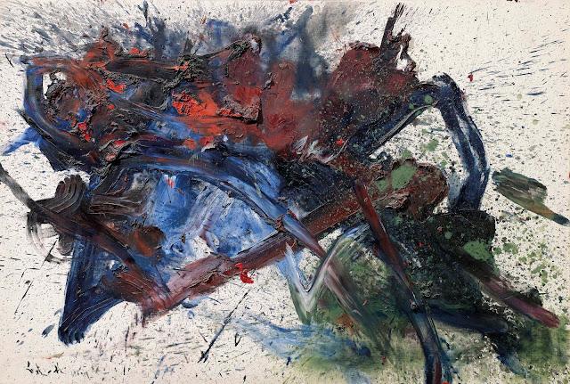 Kazuo Shiraga - Gutai avant-garde movement