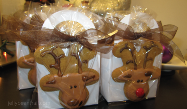 Reindeer Cookie favors