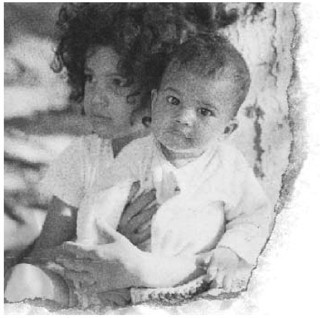 Slash and his brother in Slash Autobiography PDF Download