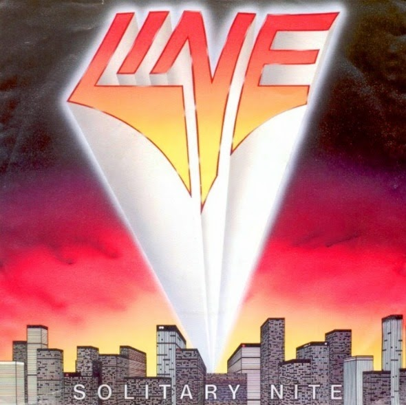 Line Solitary nite 1986 aor melodic rock