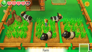 game, pc, android, harvest moon seeds of memories, harvest moon