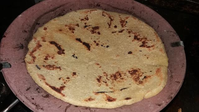 मक्का की रोटी बनाने कीविधि
